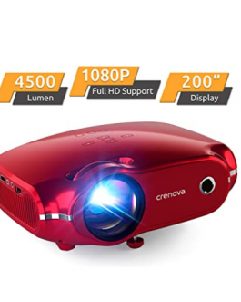 Mini Proyector 4500 Lumenes 1080 Full Hd – CRENOVA